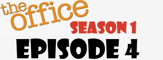 The Office Season 1 Episode 4 TV Series