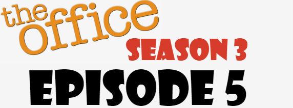 The Office Season 3 Episode 5 TV Series