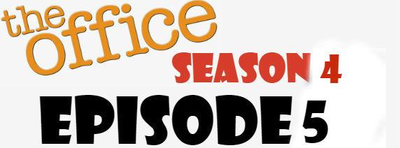 The Office Season 4 Episode 5 TV Series